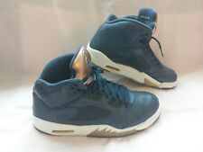 Men Nike Air Jordan 5 V Retro Obsidian Bronze Metallic 136027-416 OG Shoes Sz 11