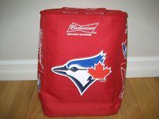 Budweiser Toronto Blue Jays Beer, Cooler Zipper Back Pack, New!