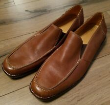 6a5d4cde30d Sandro Moscoloni Mens Tan Leather Loafer Size 11D Style 35038 Excellent.