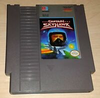 Captain Skyhawk Nintendo NES Vintage classic original retro game cartridge