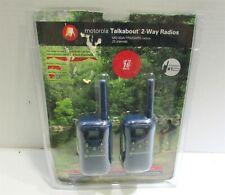 Motorola MG163A 2-Way Walkie Talkie Radios