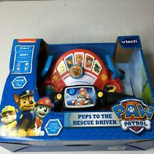 Vtech Paw Patrol Pups To The Rescue Driver Nickelodeon Educational New