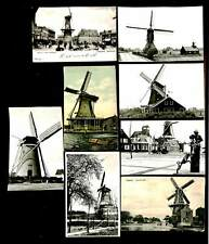 NEDERLAND 9 x ANSICHTKAART = MOLENS MILLS = FR/PR-- @11
