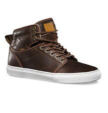 Vans Alomar (Duck Hunt) Brown White Leather Skate Shoes Mens Size 8