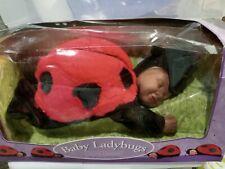 Nib Anne Geddes 1998 Baby Ladybugs Doll