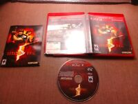 Sony PlayStation 3 PS3 Tested Resident Evil 5 Capcom Ships Fast