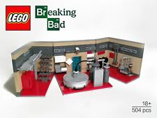 Custom Breaking Bad Lab | Lego Digital Designer Instructions Only [LXF] | MOC