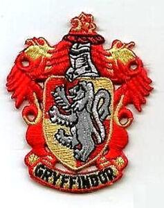 Harry Potter Patch Collection : Maison Hogwarts De Gryffindor Écharpe Crest