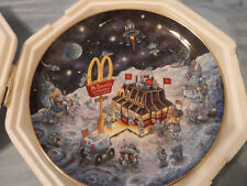 """Franklin Mint """"Golden Dream"""" by Bill Bell, Collector Plate, 1994, Numbered, Nip"""