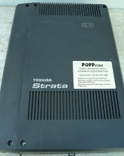 Toshiba Strata Phone System PBX CHSU40A3 w/ GCDU2A IP Business w/Power Supply