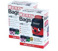 20 x Genuine Henry Hetty James Hi Filtration Vacuum Bags