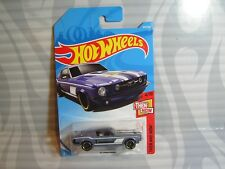 2018 HOT WHEELS ''THEN AND NOW'' #315 = `67 FORD MUSTANG =  LT.PURPLE , int