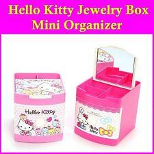 Hello Kitty Jewelry Case Mini Storgae / Organizer Box Sanrio NIB