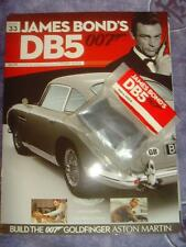Build your own Aston Martin DB5 1/8th # 33 sealed with magazine