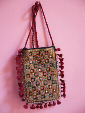 pochette indienne sac miroirs broderies ethnique Inde ethnic clutch bag India