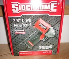 New Sidchrome 3/8 Drive Impact Ratchet Tool SCMTTA-038 Air tool wrench rrp $650
