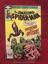 Amazing Spider-Man #228 1982 Marvel Comics Murder by Spider