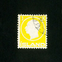 Iceland Stamps # 96 VF Used Scott Value $75.00