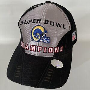 Vintage 2000 Puma Football Super Bowl Champions St. Louis Rams NFL Men's Hat Cap