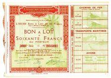 EXPOSITION COLONIALE 1931 - BON A LOT