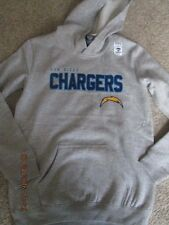 Boys San Diego Chargers Hoodie size L 14/16 Gray New with tags