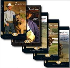 JOSH LYONS - Teaching Series - 5 DVD Complete Set - Horse Training
