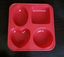 Circle Oval Heart Square Silicone Silicon Soap Jelly Chocolate Mold Molder