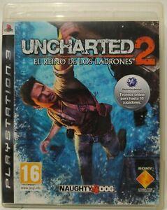 Uncharted 2: El Reino de los Ladrones. Ps3. Fisico. Pal Es. *ENVIO CERTIFICADO*