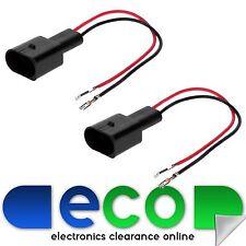 Volkswagen VW POLO 6N2 Car Speaker Adaptor Plug Lead Cable Connectors CT55-VW03