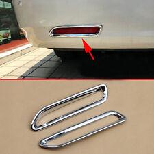 fit 2011-2018 Toyota Sienna Chrome Rear Bumper Fog Indicator light Cover Garnish