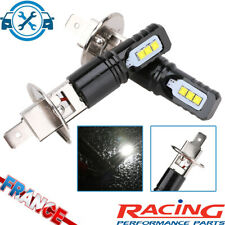 2 Ampoules H1 LED 6 SMD Blanc Xenon 6000K Anti Brouillard Feux Phare Avant