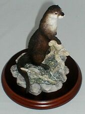 Border Fine Arts, Otter, Scenting The Air,1995.Made in Scotland, Stunning,Rare