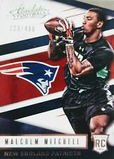2016 MALCOLM MITCHELL 💥ROOKIE💥 (#/499) Absolute Football #200 GEORGIA/PATRIOTS