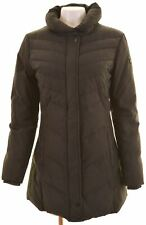 WOOLRICH Womens Padded Coat Size 16 Large Black  NH11