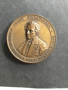 Franz Grillparzer Enthüllung des Grillparzer-Denkmals in Wien 23. Mai 1889