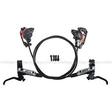 Shimano SLX BR-M675 BL-M675 MTB Hydraulic Disc Brake Set Front & Rear Black