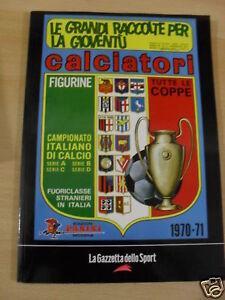 RACCOLTE CALCIATORI 1970-71 PANINI GAZZETTA SPORT 2004