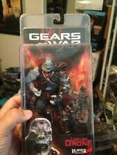 GEARS OF WAR  LOCUST DRONE series 1  WITH HAMMERBURST RARE!!! 7 Inches Tall
