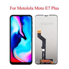 "For Motorola Moto E7 Plus XT2081 6.5"" LCD Display Touch Screen Digitizer Black"
