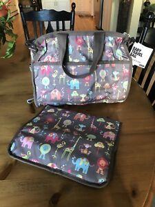 NWT LeSportsac  Baby Diaper Bag Large Tote Bag ZOO CUTE  $148 Travel Bag