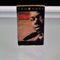 Too Short The Ghetto Cassette Single Jive Label 1990 Zomba Recording Co Hip Hop