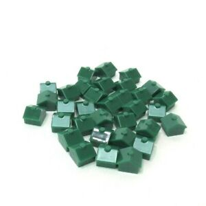 2008 Monopoly Play Faster Replacement Pieces-Complete Set 32 Green Houses