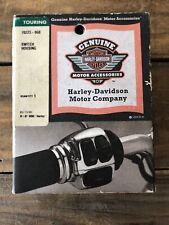 Genuine Harley Davidson Chrome Switch Housing Kit FLHT 70223-96B