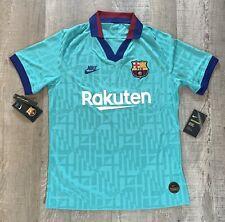 Nike FC Barcelona 2019/20 Vaporknit Match 3rd Jersey Kit AR9343-310 Men Sz M NWT
