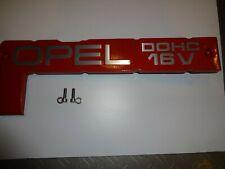 Opel Metal Spark Plug Cover 2.0 16V Redtop C20XE C20LET