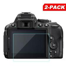 2x Tempered Glass Screen Protector for Nikon D5200 D5100 Digital SLR Camera