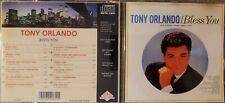 Tony Orlando Bless You CD South Bay IMPORT JAPAN 1994 FAST SHIP FROM USA