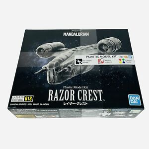 Star Wars Mandalorian Razor Crest Plastic Model Kit Bandai Vehicle 018 NEW