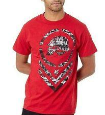 Metal Mulisha Men's Red Tatter Short Sleeve T-Shirt 3XL Free 2-3 Day Ship NWT