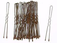 4.5cm Short Brown Waved Hair Pins Bobby Pins Grips  Hair Accessories UK
